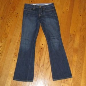NEW GAP 1969 SEXY BOOT CUT JEANS 6 R WOMENS
